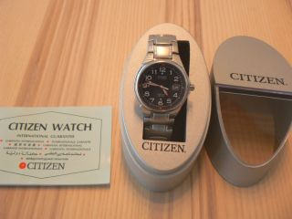 Citizen Automatic Armbanduhr Herrenuhr 8210 - S008964 Glasboden 10 Bar Bild