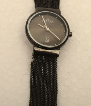 Damen Uhr Skagen Denmark 3555mm1 Steel Bild