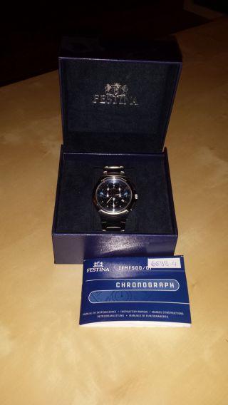 Festina Uhr Sport Herrenuhr Chronograph F6698/4 Armbanduhr Bild