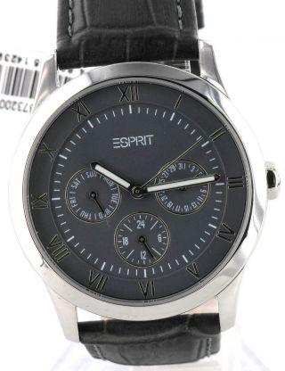 Esprit Herren Chronograph,  Herrenuhr Es103732001,  Neu Bild