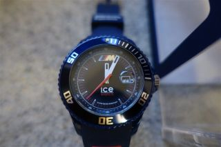 Bmw Motorsport - Ice Watch Basic - M Fahrertraining - Driving Experience - Blau - Rar Bild