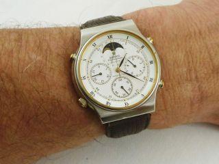 Seiko Sports 100 Chronograph Mit Mondphase Bild