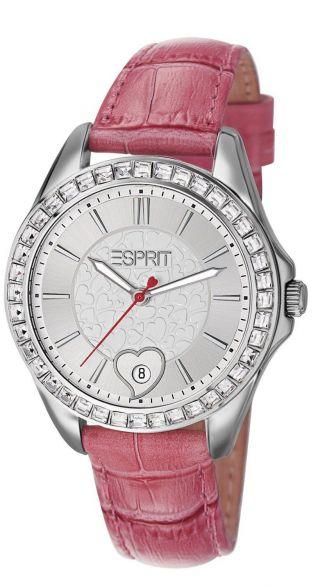 Esprit Dolce Vita Love Pink Schmuckset Uhr Edelstahl Und Armband Es106232003 Bild