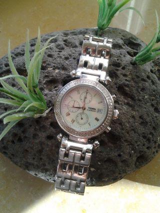 Yorn Diamant Uhr Ca.  1,  1 Karat 120 Diamanten - Limited Edition Nr.  046 Von 120 Bild