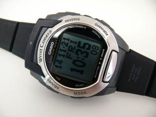 Casio 2411 Mqv - 3 Digital Kamera Herren Armbanduhr Wecker Uhr Watch Retro Bild