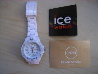 Ice Watch Weiß,  Gutschein Für Ersten Batteriewechsel Im Fachhandel Bild