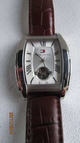 Tommy Hilfiger Th.  26.  1.  14.  0654 Automatic Herrenuhr Wie Bild