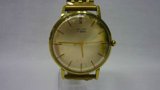 Russische Herren Armbanduhr Poljot Einfach Ansehen Bild