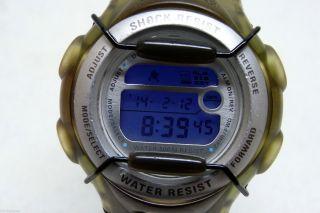Casio Baby - G Silberfarben Dunkelblau - Hellblau Bg - 164 – Top Bild