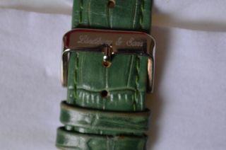 Damen Uhr Lindberg & Sons Automatik Lederband Grün Automatikuhr In Geschenk - Box Bild