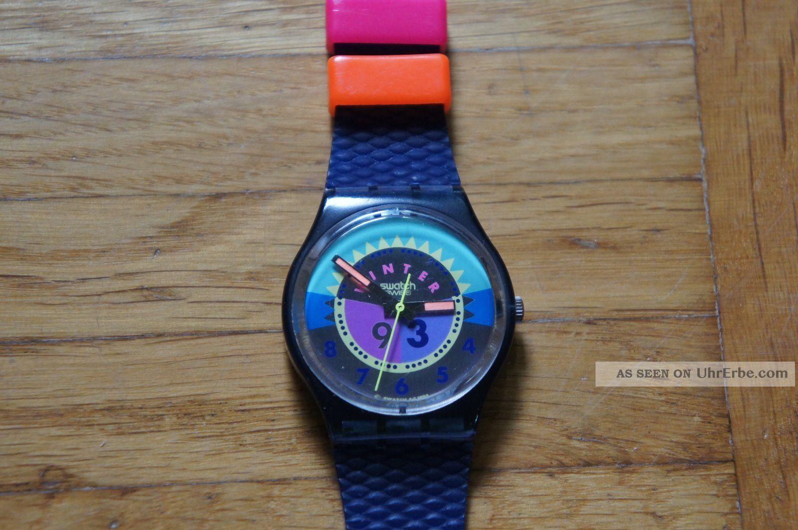 Swatch / Quarz / Winter 1993 / Armbanduhr / Uhr / S335 Armbanduhren Bild