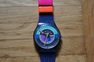 Swatch / Quarz / Winter 1993 / Armbanduhr / Uhr / S335 Bild