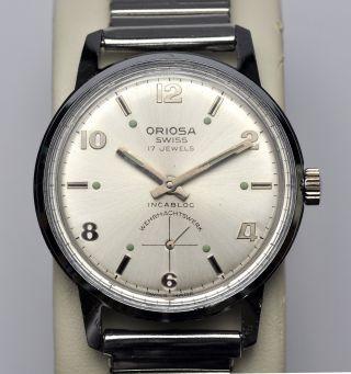 Sammleruhr: Oriosa,  Wehrmachtswerk,  Swiss Made,  70er Jahre,  Läuft Gut Bild