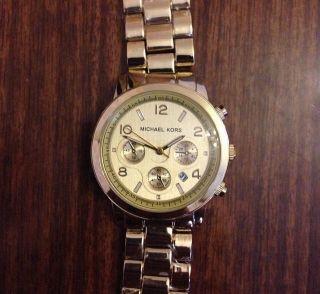 Michael Kors Uhr Roségold Watch Damen Bild