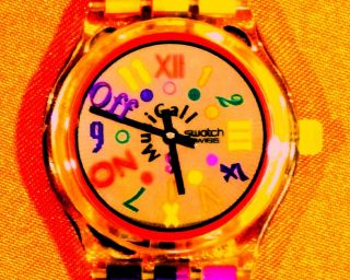 Swatch - Slk 104 Boogie Mood – 1994 - Melody By Philip Glass - Musicall Bild
