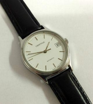 Certina Automatik Herren Armbanduhr,  Eta Werk Cal.  2824 - 2,  Edelstahl. Bild