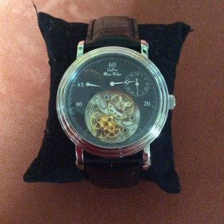 Graf Von Monte Wehro,  Automatik Uhr,  Tourbillon Optik,  Automatik Dreht Mit Bild