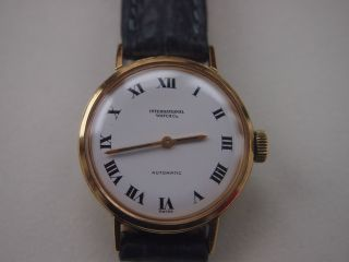 Damenuhr Orig.  Iwc - International Watch & Co - Automatik - 750er Gold Bild