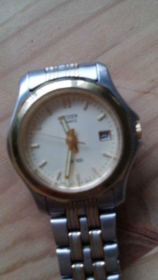 Damen Armband Uhr,  Citizen Quartz Wr 100 Bild