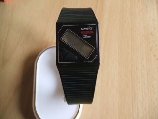 Defekte Uhrsammlung An Bastler Alte Casio Fs - 10 Auto - Calander Digital Armbanduhr Bild