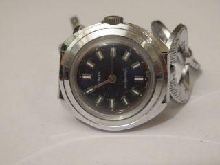 Tolle Alte Timex Damenuhr Mit Handaufzugswerk Uhr Läuft 70er Jahre Wasserdicht Bild