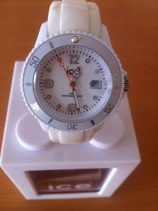 Ice Watch Uhr Armbanduhr Unisex Weiß Bild