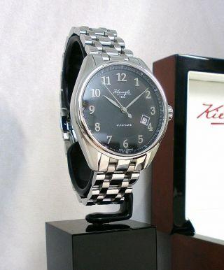 Kienzle Herrenuhr Automatik Metall Armband Saphirglas 5barw.  R. Bild