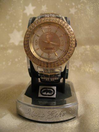 Marc Ecko Herren Armband Uhr The King - Gold E17533g2 Np: 249,  99€ Bild