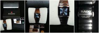 Rado Diastar Jubile Mit 4 Brillanten Auf Blauem Zifferblatt Bild
