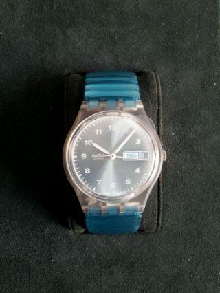 Swatch Armbanduhr Watch Uhr Herrenuhr Herren Bild