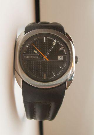 Diesel Herrenuhr Uhr Dz1095 Lederarmband Quartzuhrwerk Bild