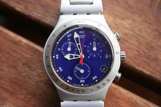 Swatch Irony Chrono Aluminium 1999 Swiss Made Bild