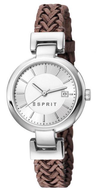 Esprit Zoe Woven Brown Damen Uhr Es107632008 Bild