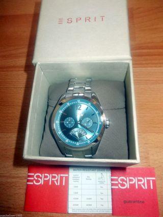 Ovp Esprit Herren Armbanduhr Avalance Blue Bild