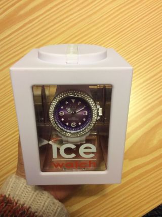 Ice Watch Ice - Purple Shine - Unisex Lila/weiß Ipe.  St.  Wsh.  U.  S.  12 Bild