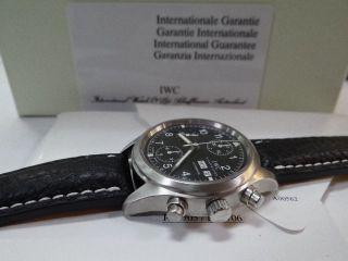 Iwc Fliegerchronograph Ref 3706 Mit Papieren Bild