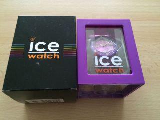 Ice Watch / Unisex Violett Lila Neu/ovp Bild