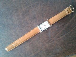 ältere Quartz - Armbanduhr Von Citizen,  Rechteckige Form,  Hochwertig - Elegant Bild
