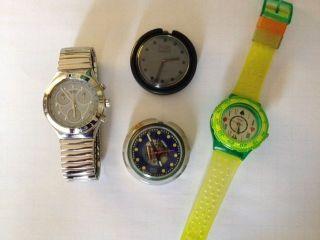 Swatch I R O N Y Stainless Steel Four 4 Ag Unbenutzt,  3 Weitere Bild