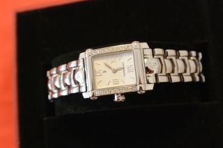 Philippe Charriol Damenuhr Uhr 18 Echte Diamanten Brillanten Colvmbvs Bild