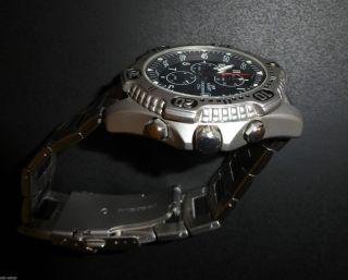 Uhr Kraft Chronograph 200m Armbanduhr Batterie Bild