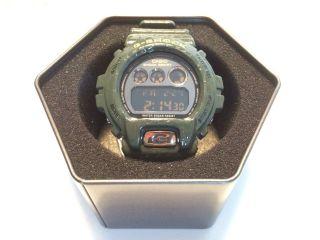 Casio G - Shock Crocodile Dw 6900cr 3er DunkelgrÜn Bild