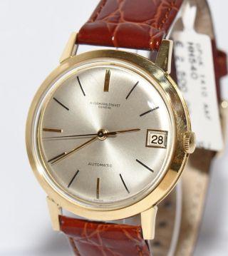 Audemars Piguet Gents Modell Gold Uhr Ca.  70er Jahre Bild