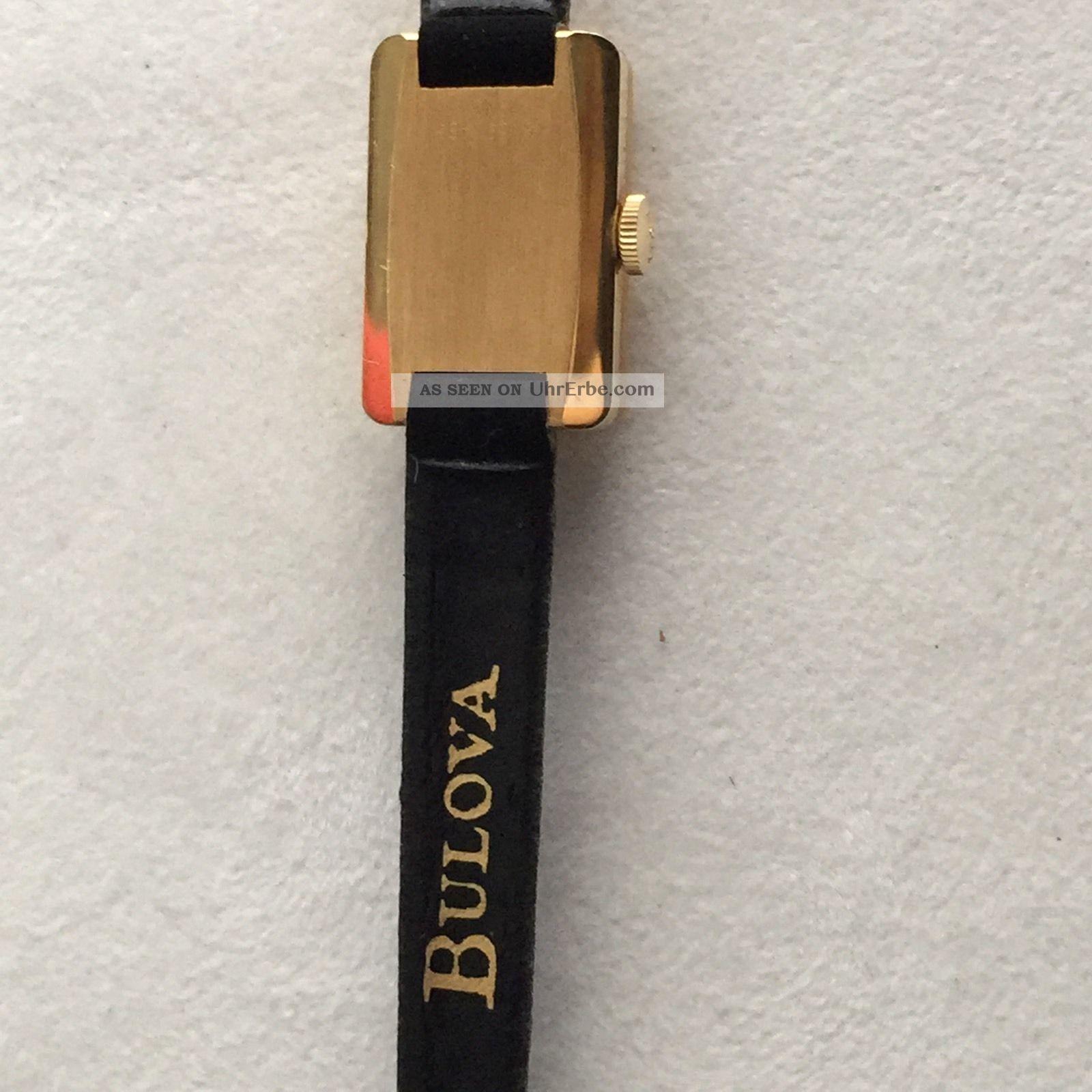 Vergoldete Bulova Armbanduhren eBay
