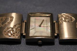 Fossil Damenuhr Armbanduhr Silber Läuft Bild