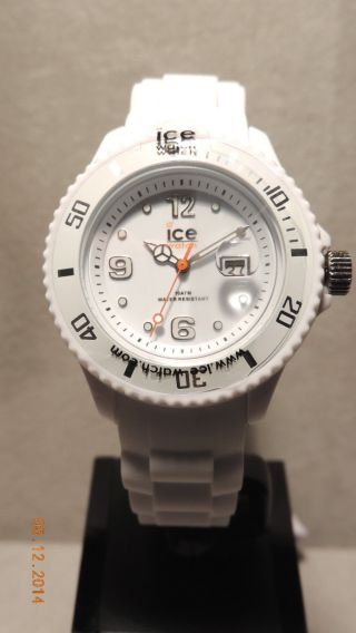 Ice Watch,  Sili White Small,  100,  Weiß,  Si.  We.  S.  S.  09 Bild