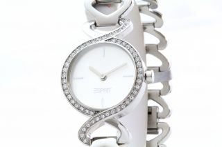 Esprit Uhr Damenuhr Edelstahl Fontana Crystal Silver Es106282009 Bild