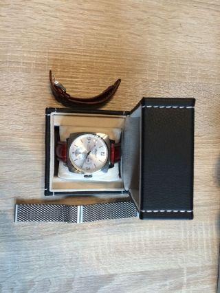 Ingersoll Herren Automatik Uhr Braun Galesburg In8014sl Uvp:299€ Bild