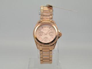 Michael Kors Mk5613 Damenuhr Armbanduhr Uhr Edelstahl,  Rose Bild