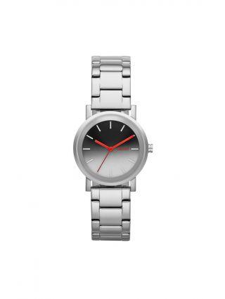 Dkny Damenuhr Soho Silber Rot Ombre Watch / Modell: Ny2183 / Armbanduhr Bild